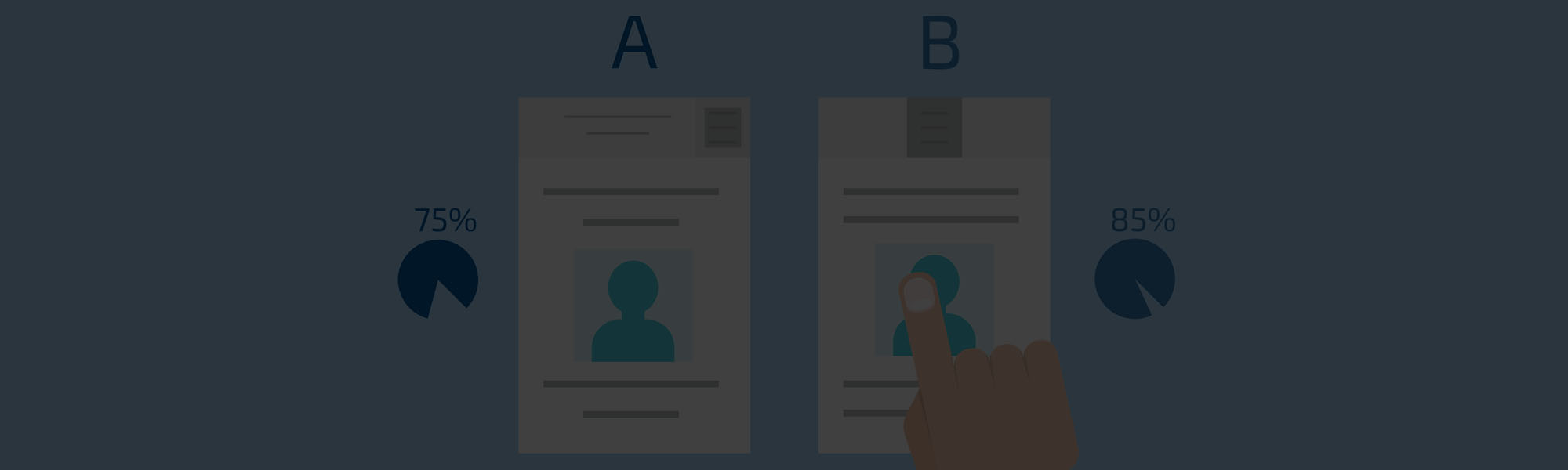 The artful science of Social A/B testing: How thinking Bayesian brings the clicks