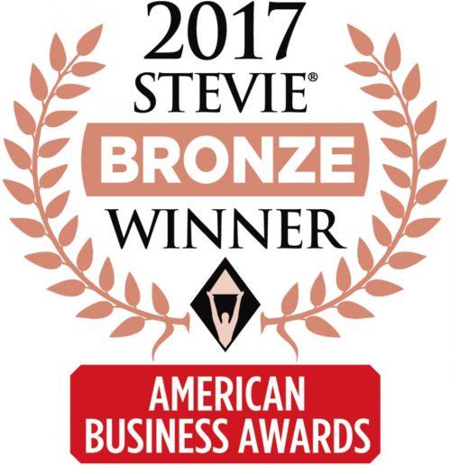 2017 Stevie Award Bronze Winner