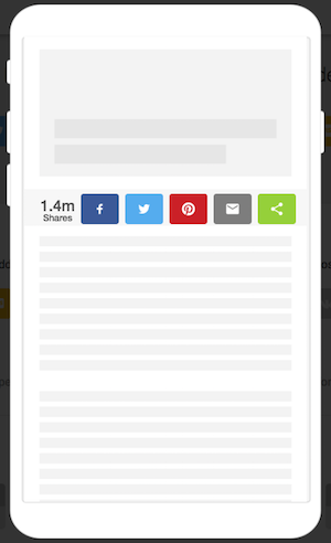 Should Your Publication Use Inline or Sticky Share Buttons? | ShareThis
