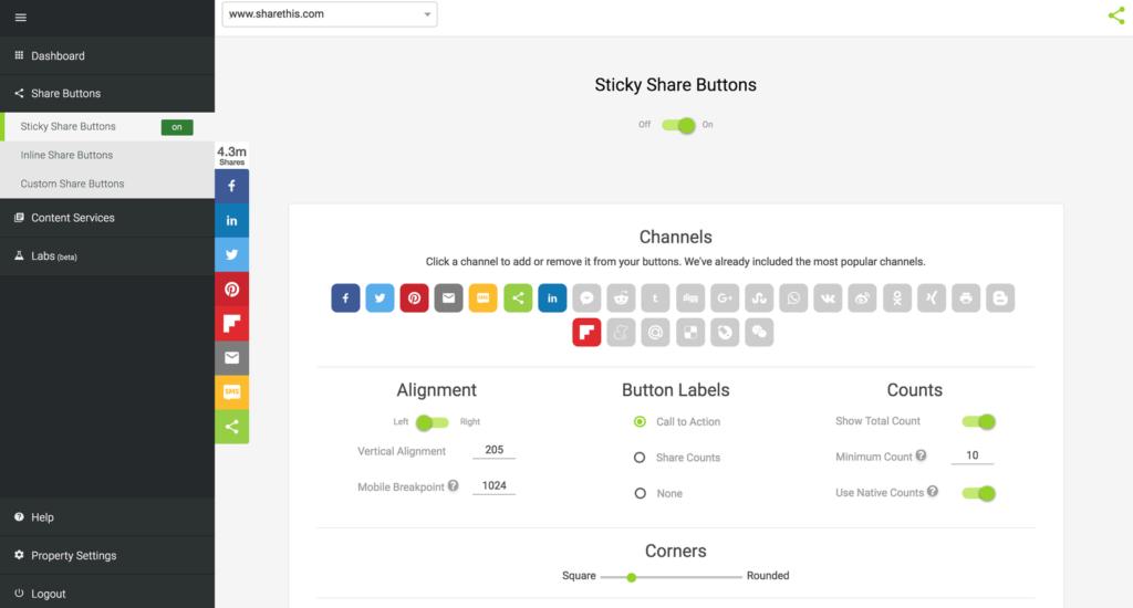 sharethis platform