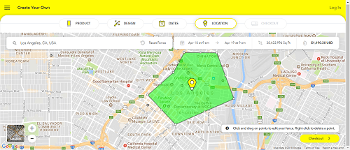Setting Your Geofence