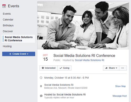 Social Media Solutions RI Conference
