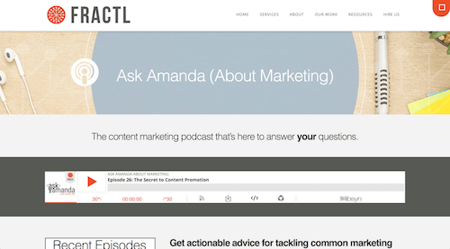 Ask Amanda About Marketing