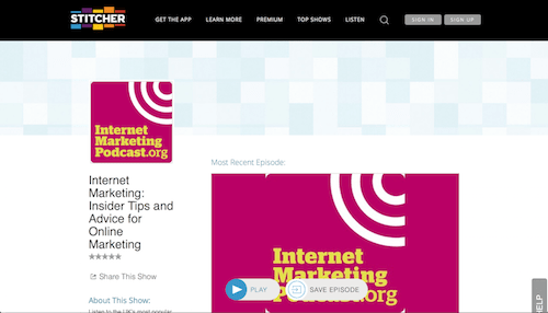 Internet Marketing Podcast