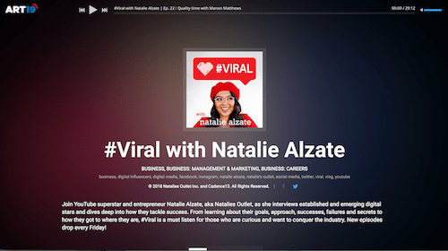 Viral with Natalie Alzate