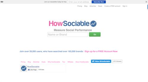 HowSociable