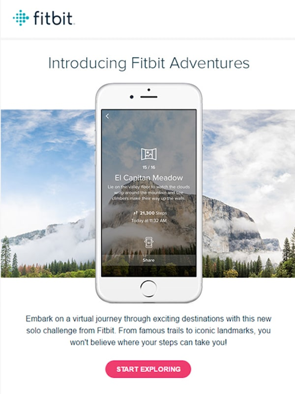 great newsletter examples-Fitbit