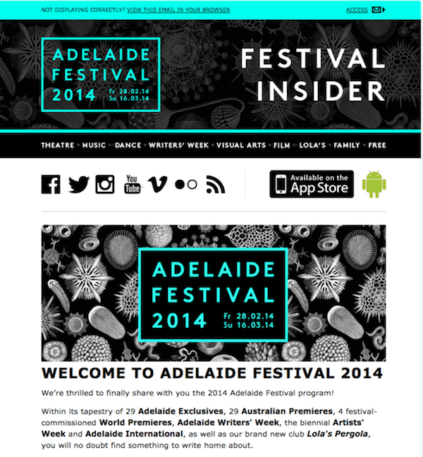 great newsletter examples-IS Design + Digital