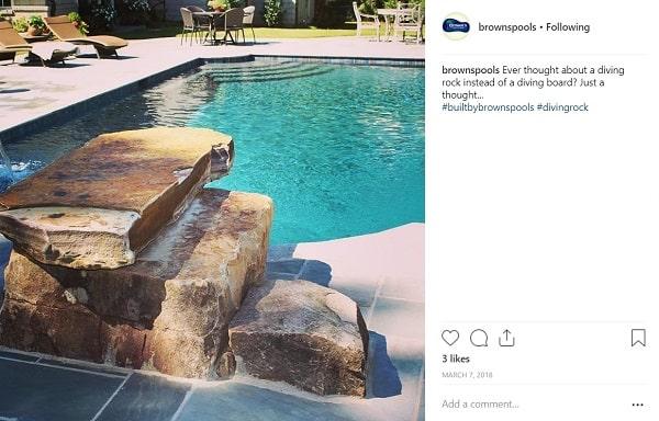 Brown's Pools Instagram