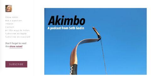 Best Social Media Podcasts: Akimbo