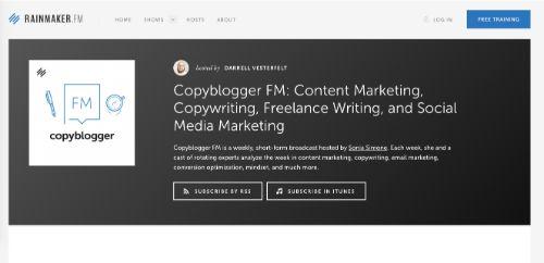 Best Social Media Podcasts: Copyblogger FM