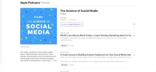 Best Social Media Podcasts: The Science of Social Media