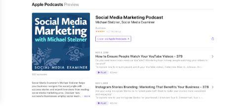 Best Social Media Podcasts: Social Media Marketing