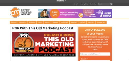 Best Social Media Podcasts: This Old Marketing