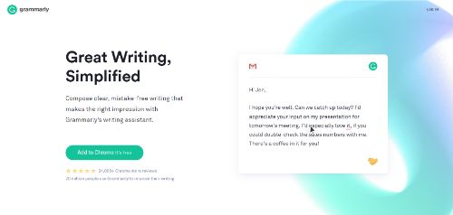 Marketing Productivity Tools: Grammarly