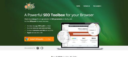 Marketing Productivity Tools: SEOquake