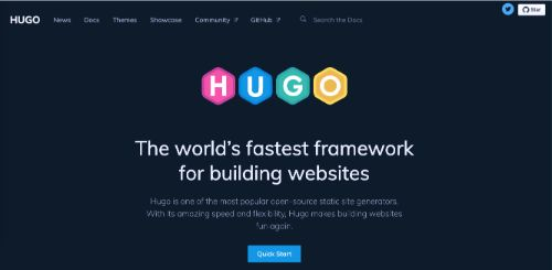 Best Blogging Platforms: Hugo