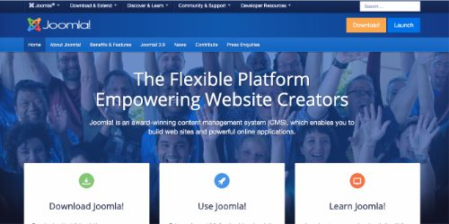 Best Blogging Platforms: Joomla