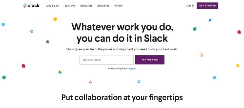 Marketing Productivity Tools: Slack