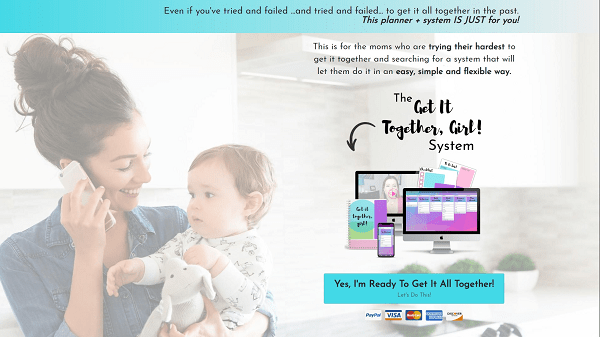 High-converting landing pages: The Practical Mommy