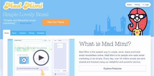 Best Email Marketing Services & Software: Mad Mimi