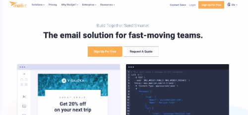 Best Email Marketing Services & Software: Mailjet