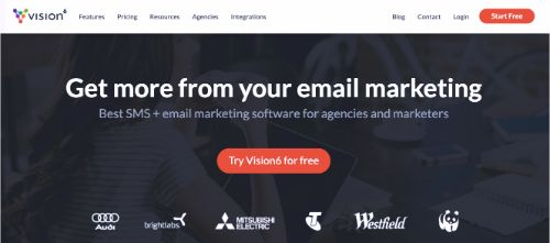 Best Email Marketing Services & Software: Vision6