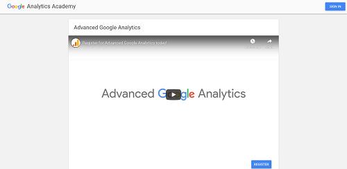 Google Analytics Certification: Advanced Google Analytics
