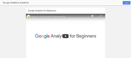 Google Analytics Certification: Google Analytics for Beginners