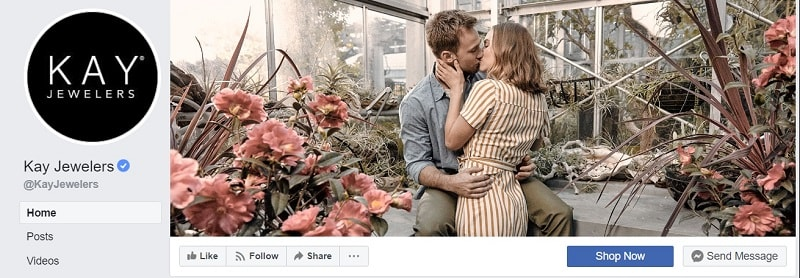 What is the Ideal Facebook Header Size in 2020? Kay Jewelers Facebook Header