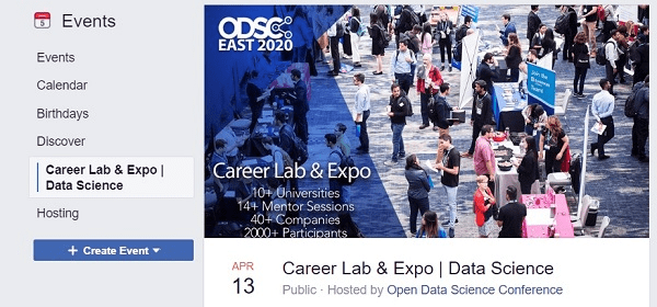 What is the Best Facebook Event Cover Photo Size for 2020? ODSC East 2020