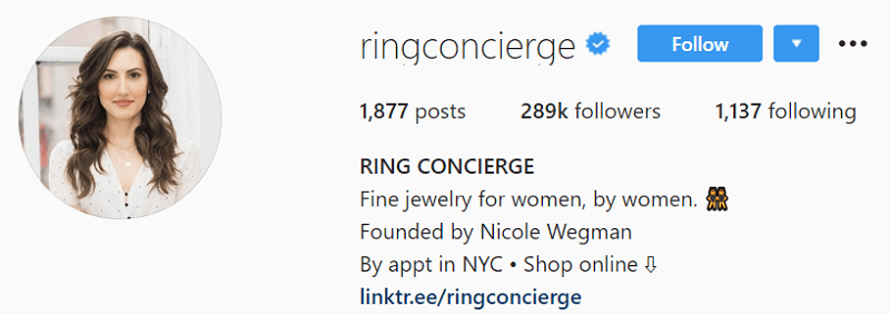 Recommended Instagram Profile Picture Size - Ring Concierge