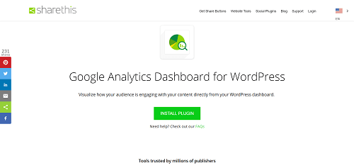 Best SEO Tools: Google Analytics Dashboard for WordPress