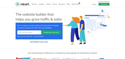 Best e-Commerce Platforms: 3dcart