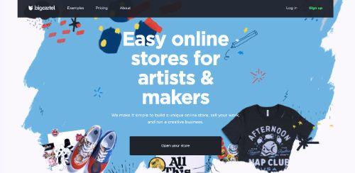 Best e-Commerce Platforms: Big Cartel